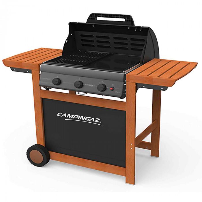 barbecue campingaz adela de 3 woody l. Black Bedroom Furniture Sets. Home Design Ideas