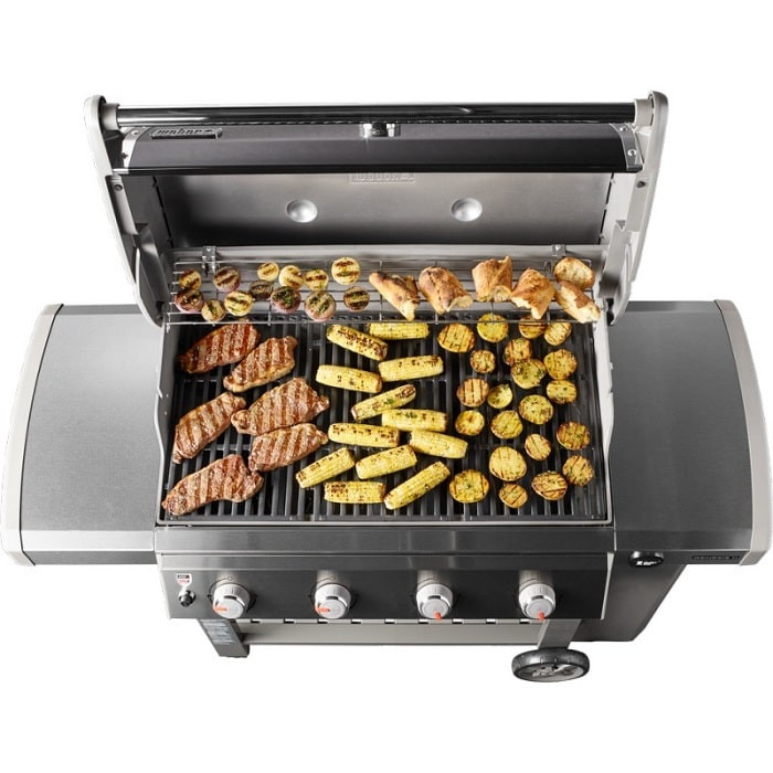 Weber Genesis II E 415 GBS Gas Grill Barbecue gaz   Boulanger