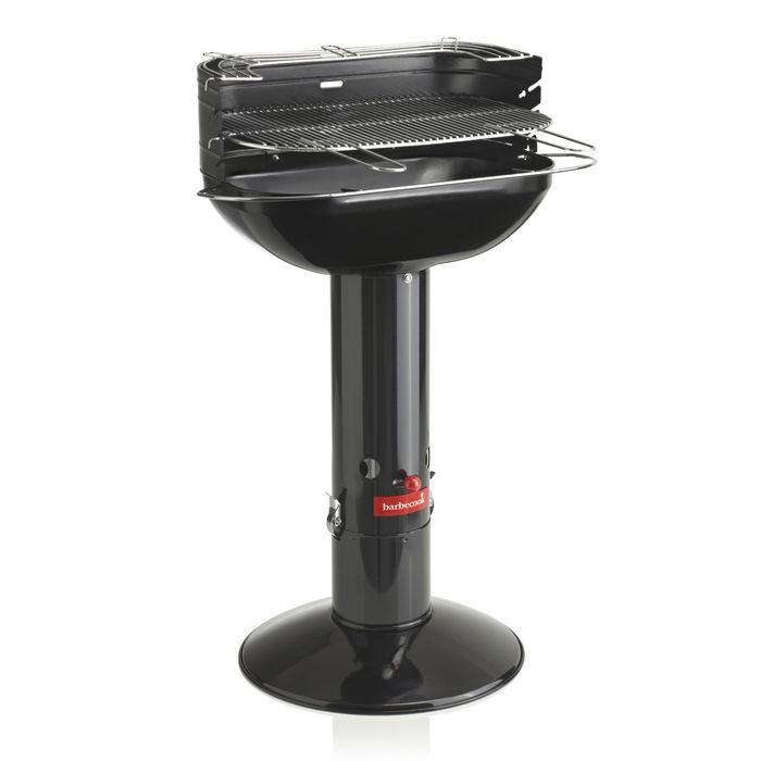 Barbecue à charbon Barbecook ARENA BLACK + Set d'ustensiles noir