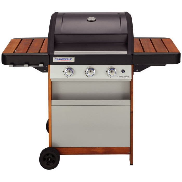 barbecue gaz 3 serie woody l
