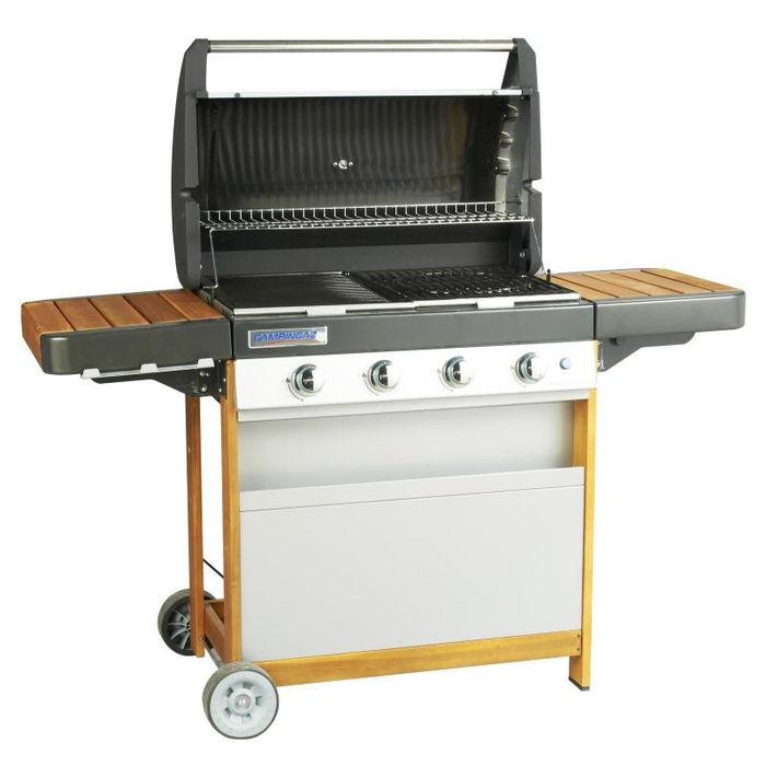 barbecue gaz campingaz 4 series woody lx. Black Bedroom Furniture Sets. Home Design Ideas