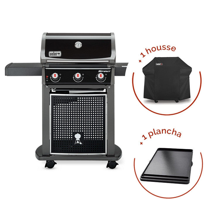 barbecue gaz weber spirit classic e housse plancha with barbecue gaz plancha with housse plancha. Black Bedroom Furniture Sets. Home Design Ideas