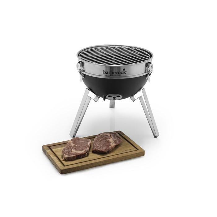 barbecook billy barbecue nomade au charbon de bois. Black Bedroom Furniture Sets. Home Design Ideas