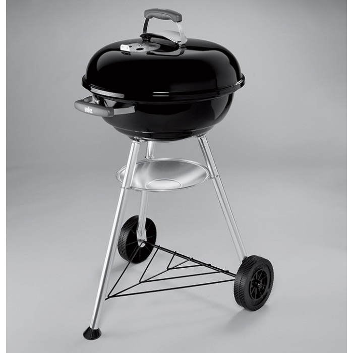 barbecue weber compact kettle 47cm raviday barbecue. Black Bedroom Furniture Sets. Home Design Ideas