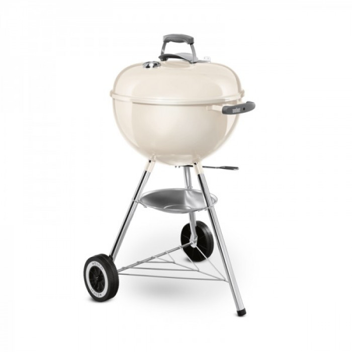 barbecue weber original kettle 47 cm blanc. Black Bedroom Furniture Sets. Home Design Ideas