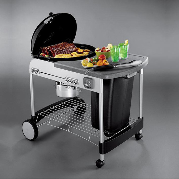 barbecue charbon weber performer premium gbs 57 cm