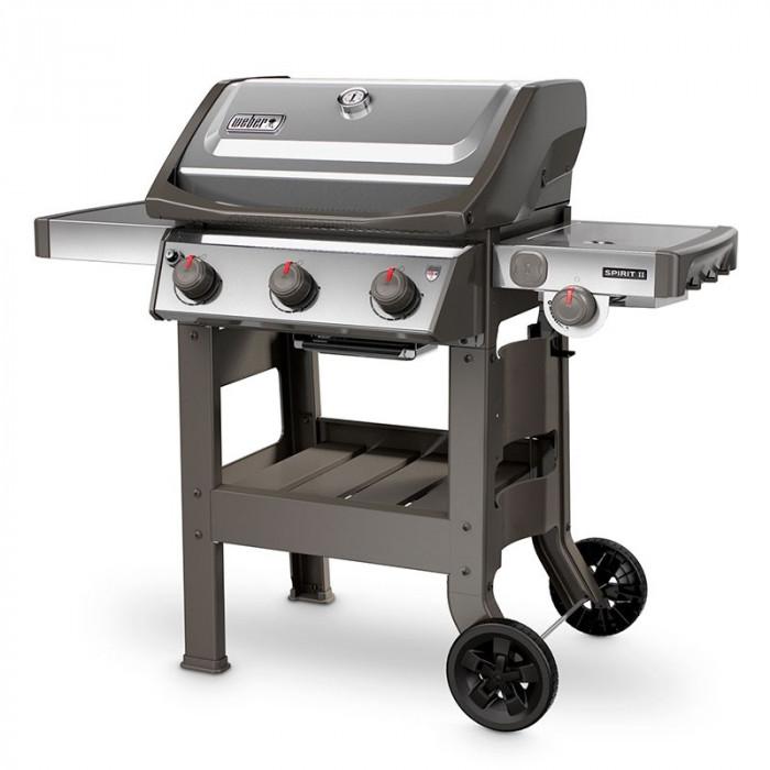 barbecue weber spirit 2 s 320 gbs inox raviday barbecue. Black Bedroom Furniture Sets. Home Design Ideas