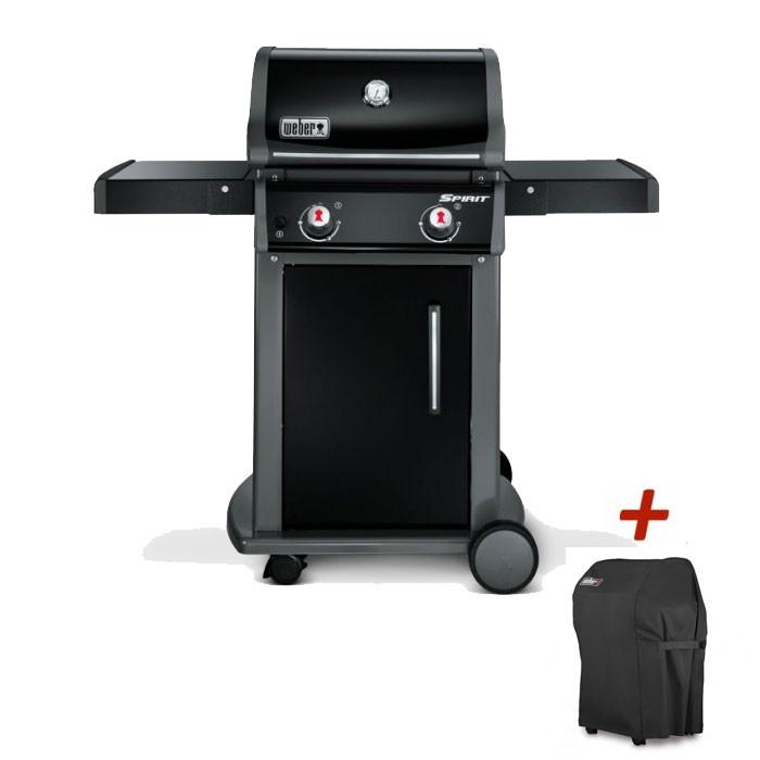 Barbecue à gaz Weber Spirit 1 Original E-210 Black