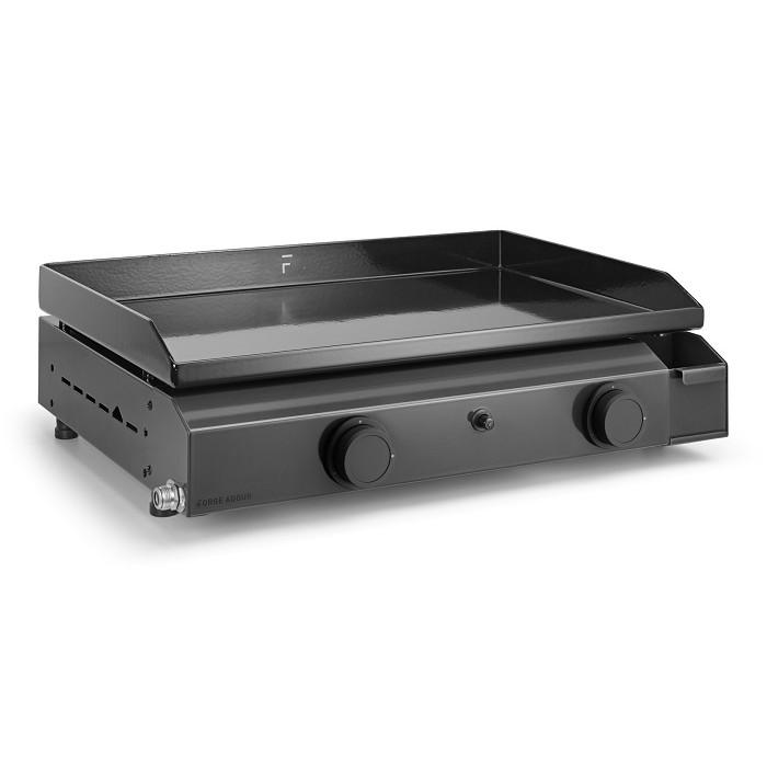 plancha gaz forge adour base 60 acier maill. Black Bedroom Furniture Sets. Home Design Ideas