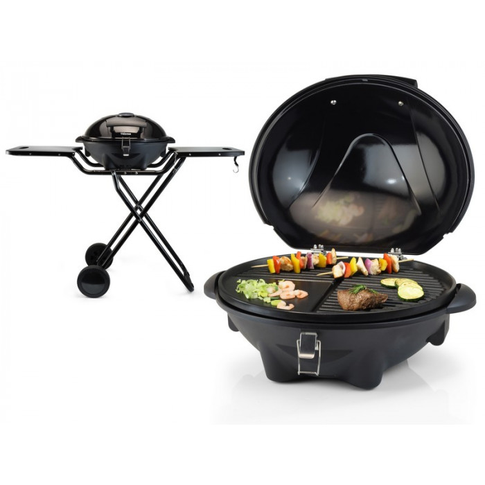 barbecue lectrique sur roulette tristar mod le table et. Black Bedroom Furniture Sets. Home Design Ideas