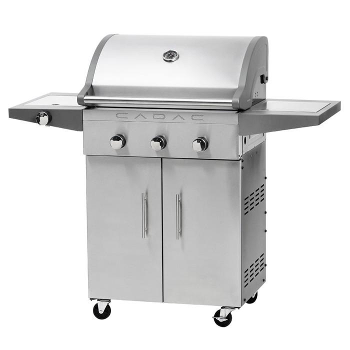 barbecue gaz inox cadac entertainer 3 plancha. Black Bedroom Furniture Sets. Home Design Ideas
