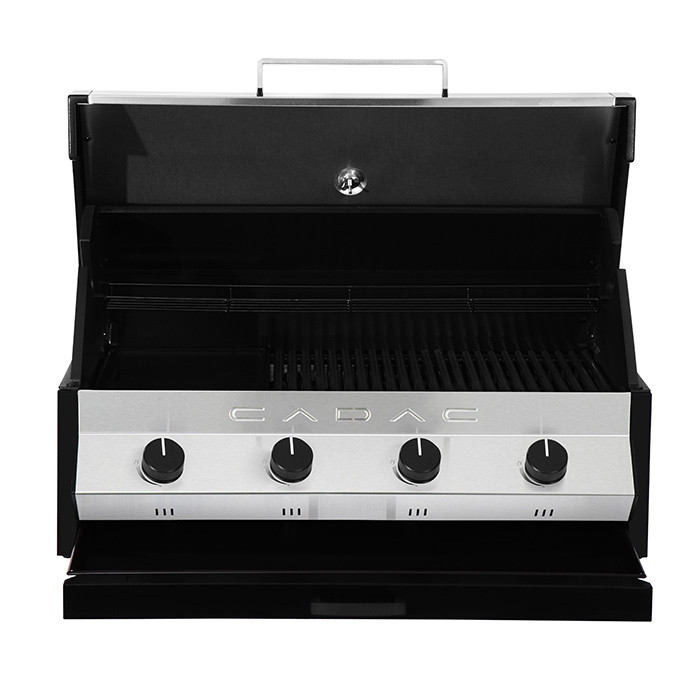 Barbecue à gaz Cadac MERIDIAN Inox 4 brûleurs