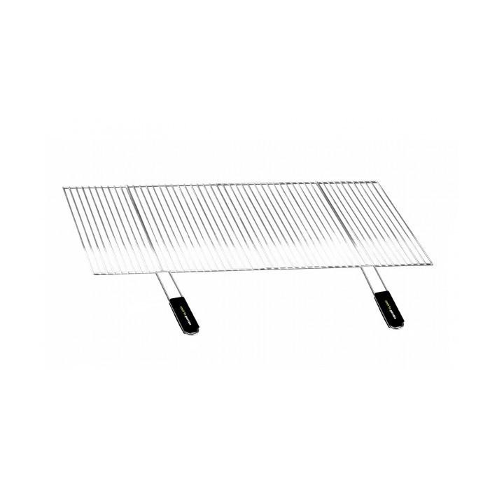 Grille de barbecue recoupable en acier 100 x 40 cm GR803