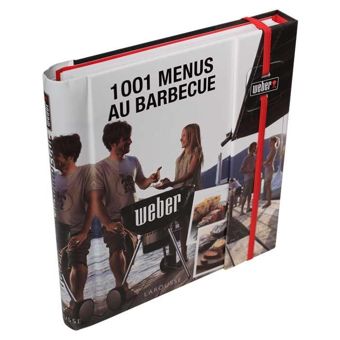 Livre de recettes Weber 1001 menus au barbecue