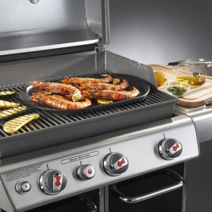 Grande plancha barbecue Weber Céramique