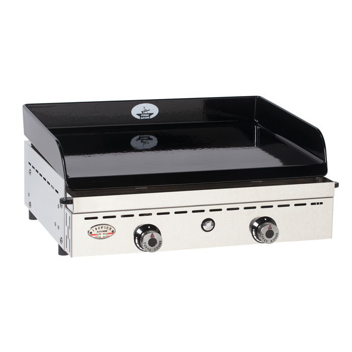 Plancha gaz forge adour iberica 600 inox raviday barbecue for Les forges d adour