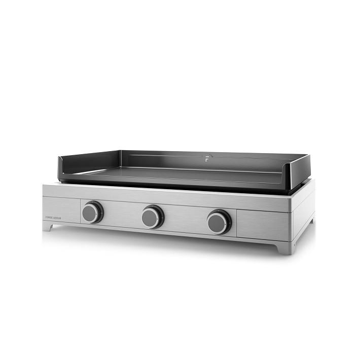 plancha gaz forge adour modern 75 inox. Black Bedroom Furniture Sets. Home Design Ideas