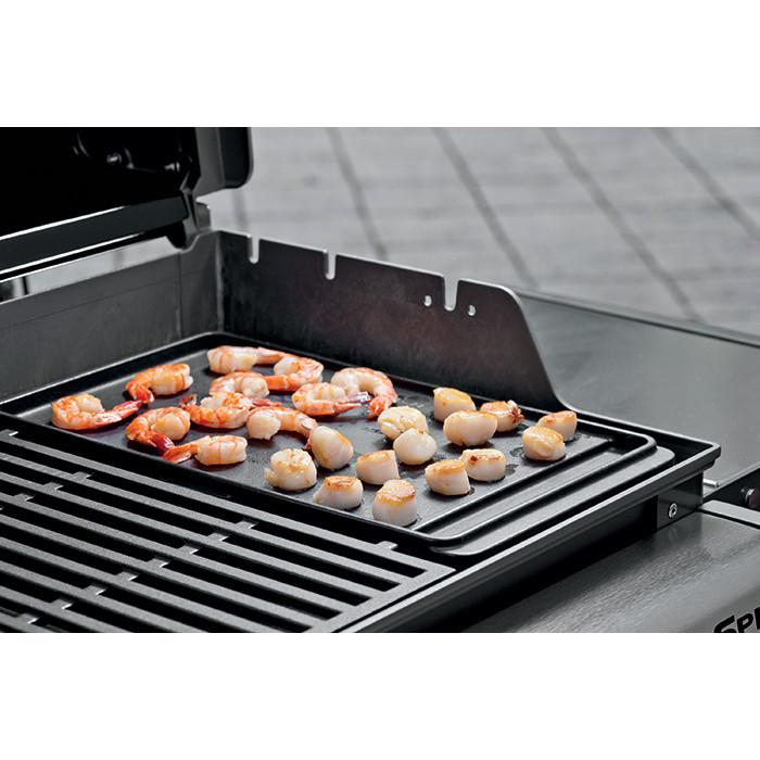 Weber 7597 Plancha en Fonte pour Barbecue Spirit avec 2