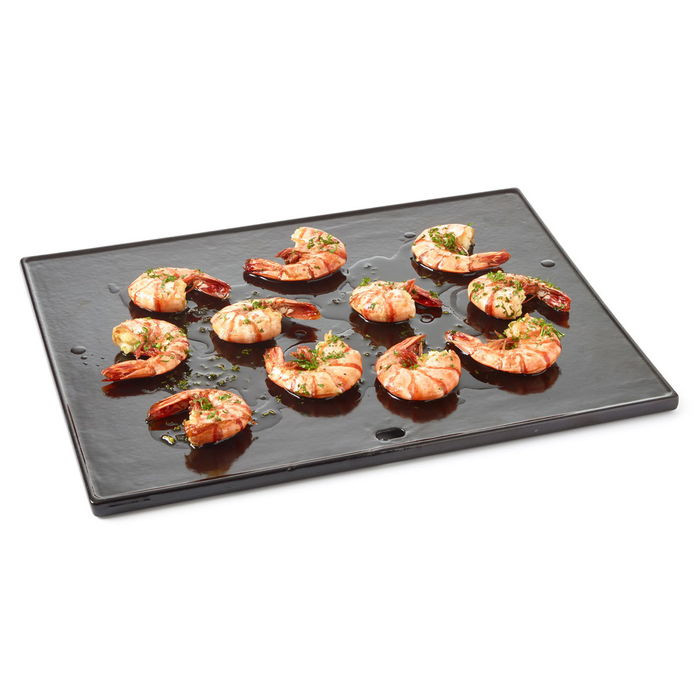 Plaque de cuisson plancha pour barbecue barbecook quisson siesta raviday barbecue for Plaque plancha weber