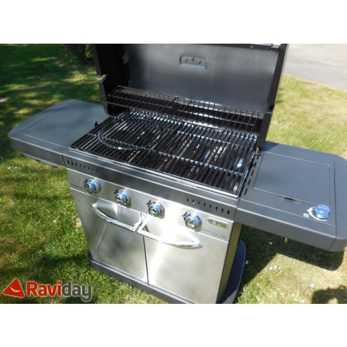 Vente d'un Barbecue à gaz Master 4 de Campingaz testé par Raviday