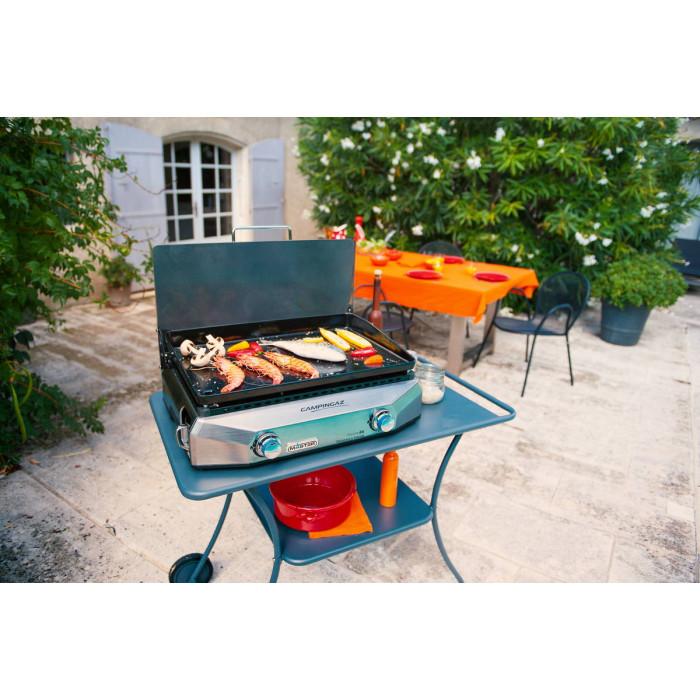 plancha au gaz campingaz master ex raviday barbecue. Black Bedroom Furniture Sets. Home Design Ideas