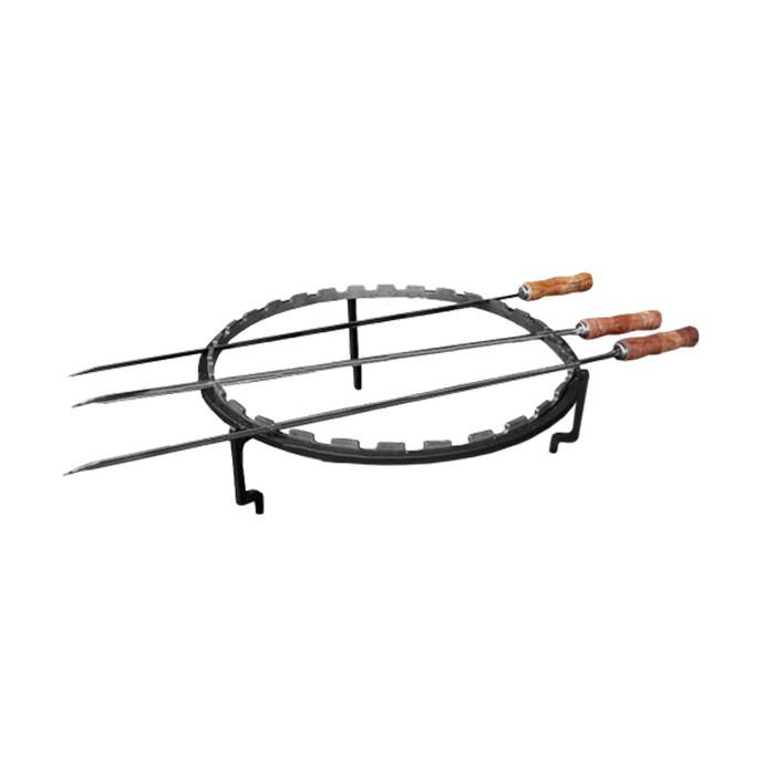 Set de cuisson brochettes pour brasero OFYR 100 cm