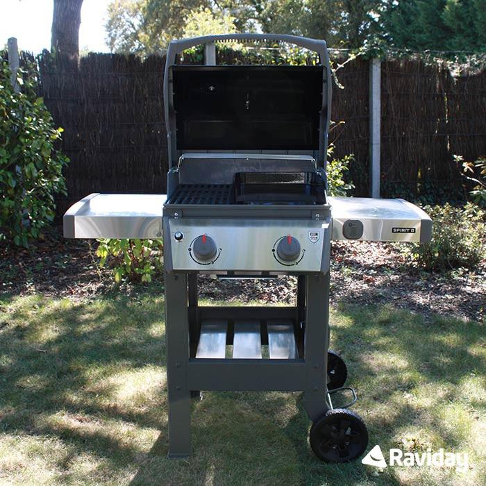 Barbecue à gaz Weber Spirit 2 E 210 Black + Plancha