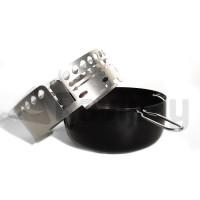 Kit cendrier barbecue charbon Weber Ø 57 cm - Noir