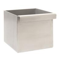 Mug récupérateur carré Le Marquier en inox 0,5l pour plancha