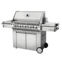 Barbecue à gaz Napoleon PRESTIGE PRO 665 RSIB Inox