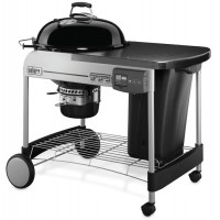 Barbecue à charbon Weber Performer Deluxe Gourmet Ø 57 cm GBS Noir