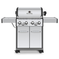 Barbecue à gaz 4 feux Broil King BARON 490 Inox