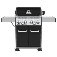 Barbecue à gaz 4 feux Broil King BARON 490 Noir