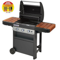 Barbecue à gaz Campingaz 3 Series Classic WLD + plaque plancha incluse