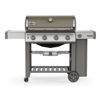 Barbecue Weber à gaz Genesis 2 E-410 GBS Smoke Grey - Version 2019