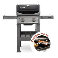 Barbecue à gaz Weber Spirit 2 E-210 Black + Plancha