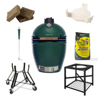 Barbecue kamado Big Green Egg Large - Pack Original + Table EGG Frame L