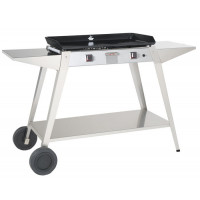 Chariot inox Forge Adour pour plancha Baiona 750