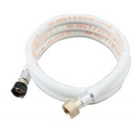 Tuyau à gaz flexible 150 cm avec embouts vissés sans packaging