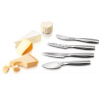 Lot de 4 couteaux à fromage en inox Boska Monaco