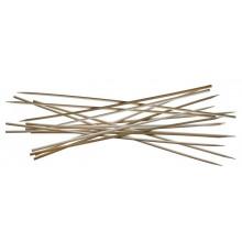 Lot de 100 pics à brochette 30 cm en bambou