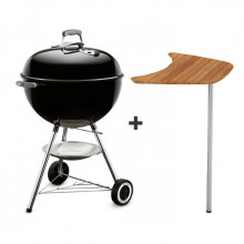 Barbecue Weber Classic Kettle 57cm avec plan de travail