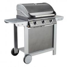 Barbecue à gaz mixte Grill + Plancha avec capot Cook'in Garden FIESTA 3