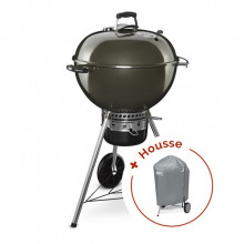Barbecue Weber Master-Touch GBS Ø 57 cm Gris + housse