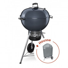 Barbecue Weber Master-Touch GBS Ø 57 cm Bleu + housse