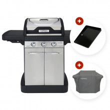 Barbecue à gaz Campingaz Master 3 + Housse + Plancha