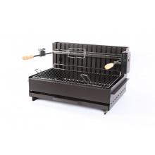Barbecue à charbon Le Marquier Original Vulcain Tournebroche 61x33