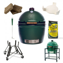 Barbecue kamado Big Green Egg XXL - Pack Original + Table EGG Frame XXL