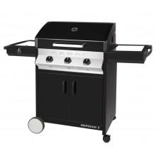 Barbecue à gaz 3 brûleurs Cadac Meridian Plancha 'n Grill