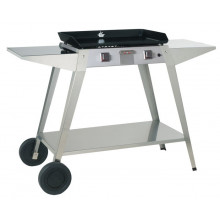 Chariot inox Forge Adour pour plancha Baiona 600
